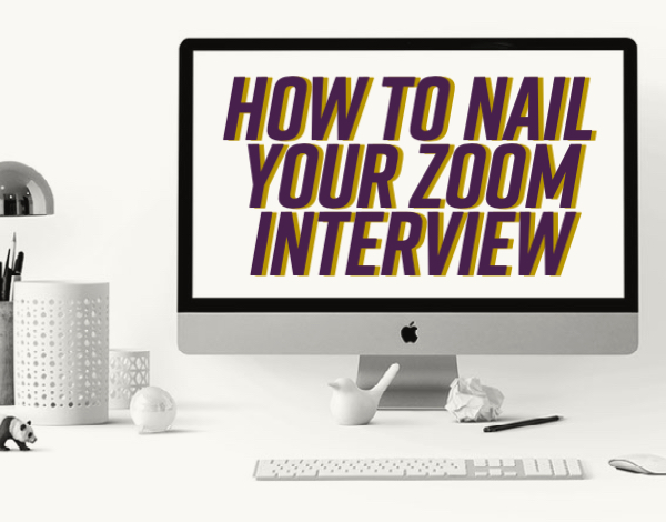 How to Nail Your Zoom Interview
