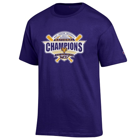 2017 DII National Baseball Championship T-shirt