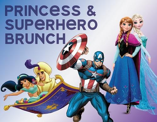 Princess and Superhero Brunch